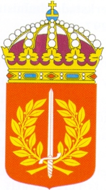 Coat of arms (crest) of the Military Academy Halmstad, Sweden