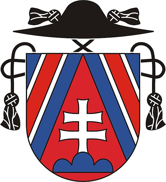 Arms (crest) of the Slovak Catholic Mission in Great Britain