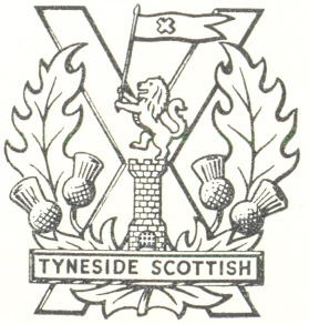 Coat of arms (crest) of the The Tyneside Scottish, British Army