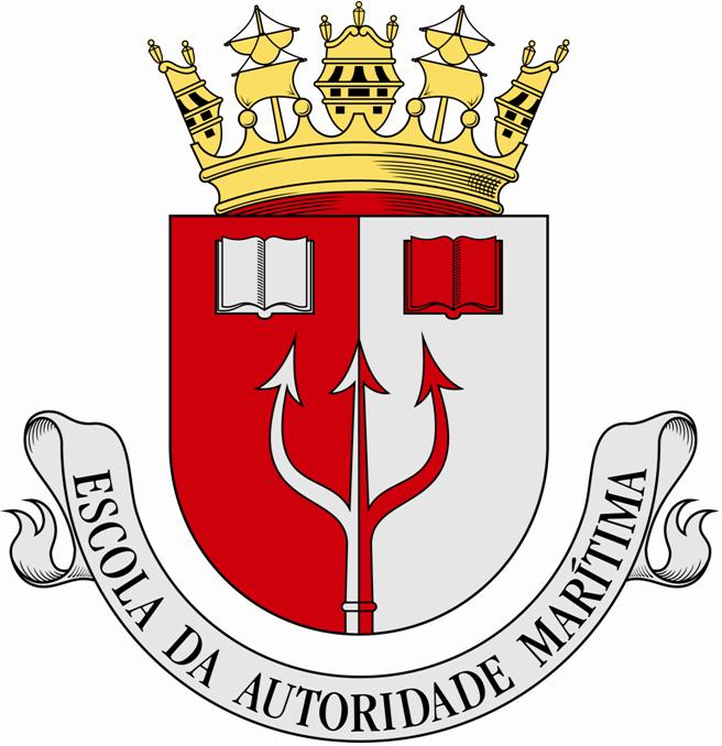 Coat of arms (crest) of the Maritime Authority School, Portuguese Navy
