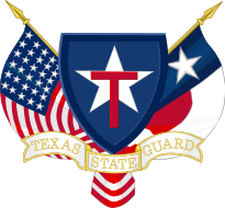 Coat of arms (crest) of the Texas State Guard