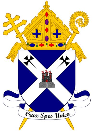 Arms (crest) of Archdiocese of Saint Andrews and Edinburgh