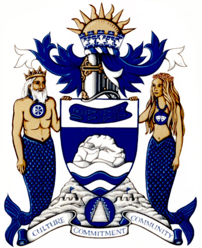 Arms (crest) of White Rock
