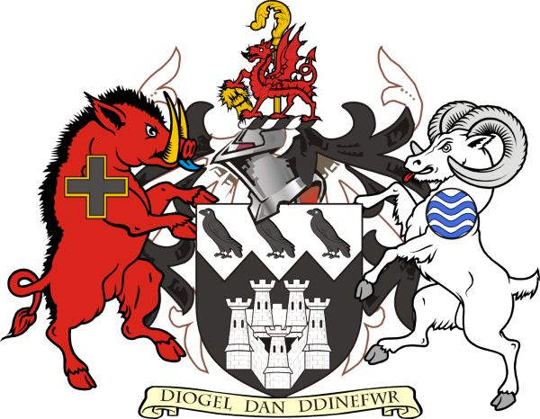 Arms (crest) of Dinefwr