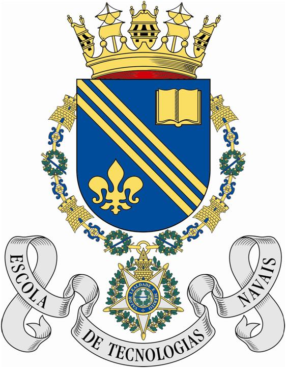 Coat of arms (crest) of the Naval Technical School, Portuguese Navy