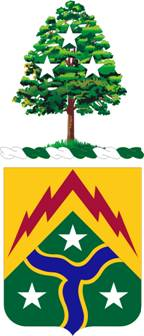 Coat of arms (crest) of the 278th Armoured Cavalry Regiment, Tennessee Army National Guard