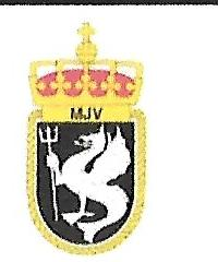 Coat of arms (crest) of the Naval Jaeger Arm, Norwegian Navy