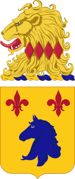 Coat of arms (crest) of the 102nd Armor Regiment, New Jersey Army National Guard