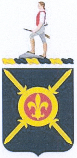 Coat of arms (crest) of the 381st Replacement Battalion, US Army