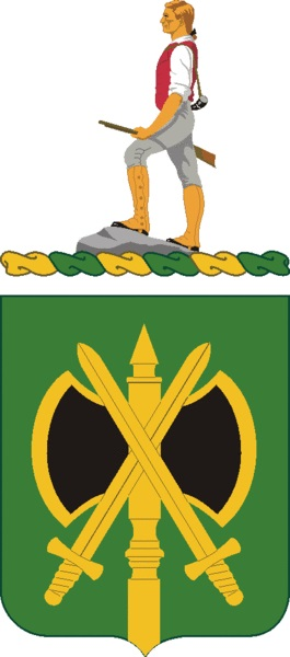 Coat of arms (crest) of the 785th Military Police Battalion, US Army