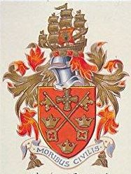 Coat of arms (crest) of King's School, Tynemouth