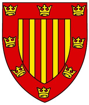 Arms of Peterhouse College (Cambridge University)