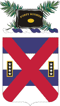 Coat of arms (crest) of the 13th Infantry Regiment, US Army