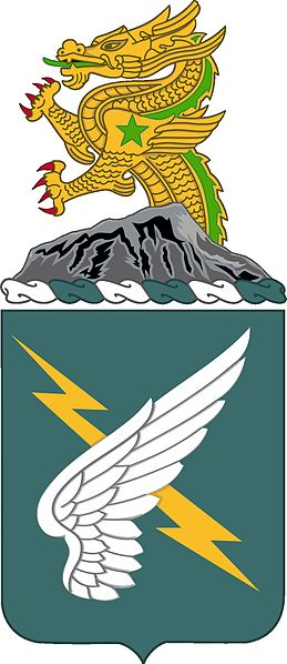 Arms of 25th Aviation Regiment, US Army