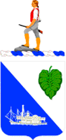 Coat of arms (crest) of the 442nd Infantry Regiment, US Army