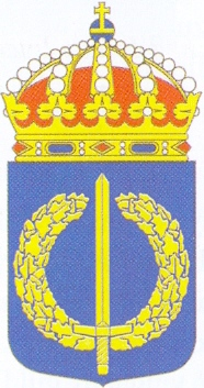 Coat of arms (crest) of the Defence Academy, Sweden