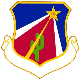 Coat of arms (crest) of the 924th Fighter Group, US Air Force