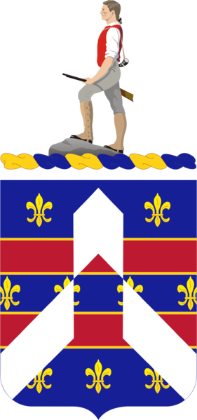 Coat of arms (crest) of the 320th (Infantry) Regiment, US Army