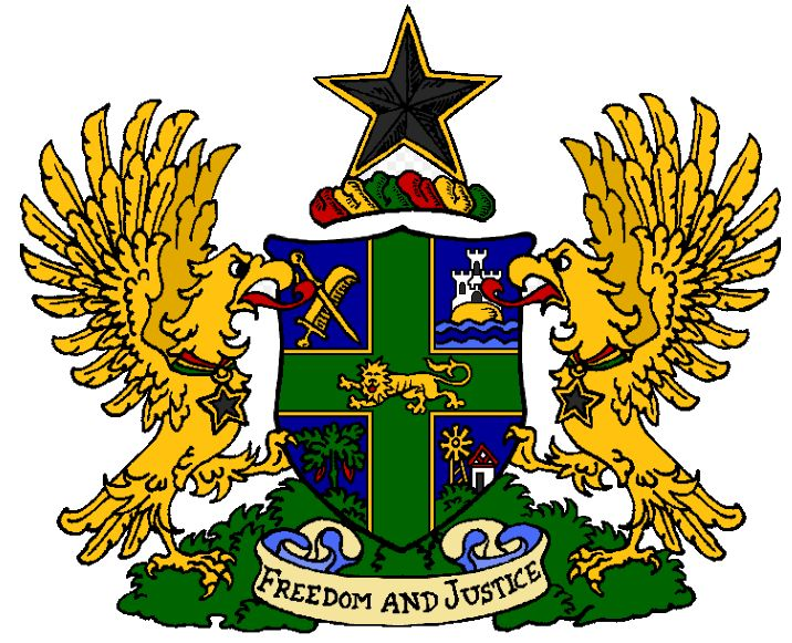 Arms of National Arms of Ghana