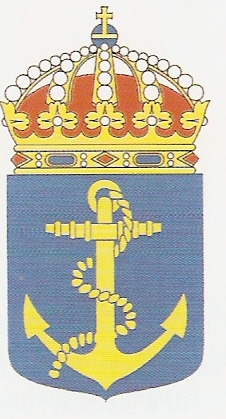 Coat of arms (crest) of the The Fleet, Swedish Navy