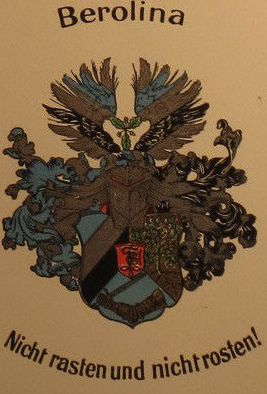 Arms of Corps Berolina zu Berlin