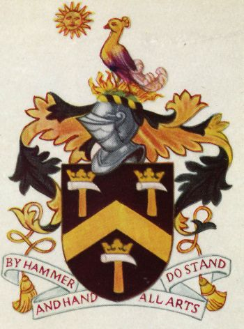 Arms of Worshipful Company of Blacksmiths