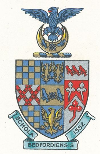 Arms (crest) of Bedford School