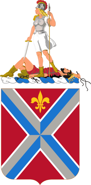 Coat of arms (crest) of the 116th Infantry Regiment, Virginia Army National Guard