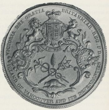 Seal of Vancouver Island