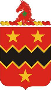 Coat of arms (crest) of the 16th Field Artillery Regiment, US Army
