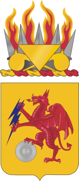 Arms of 2nd Chemical Battalion, US Army