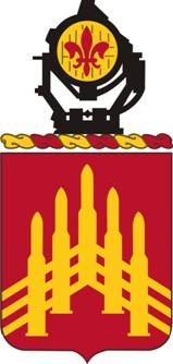 Coat of arms (crest) of the 71st Air Defense Artillery Regiment, US Army