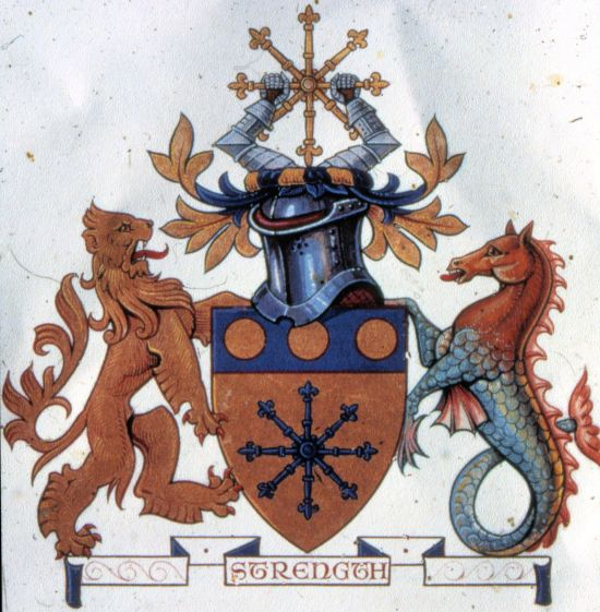 Arms of Pioneer Mutual Insurance Company