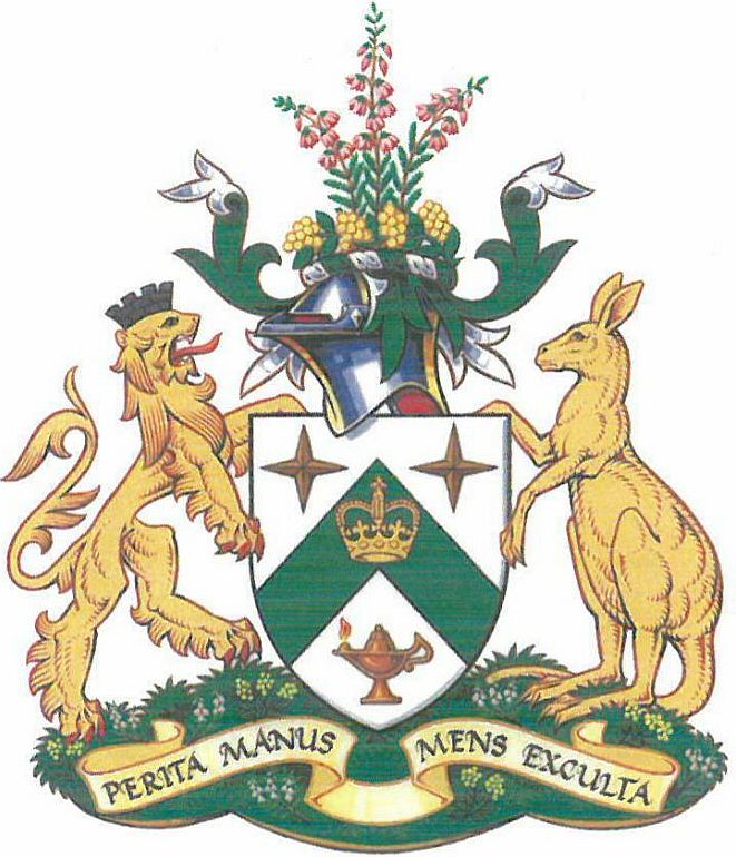 Coat of arms (crest) of Royal Melbourne Institute of Technology