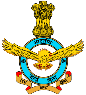 Coat of arms (crest) of the Indian Air Force