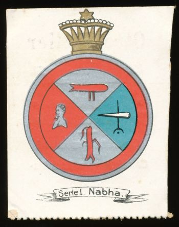 Arms of Nabha (State)