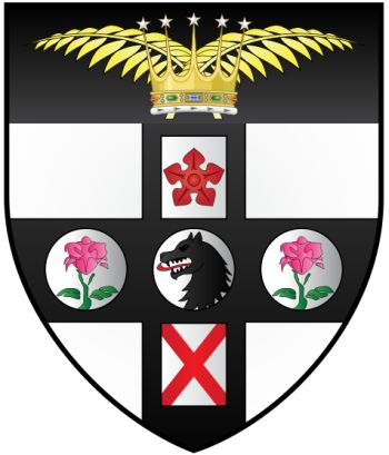 Arms (crest) of Campion Hall (Oxford University)