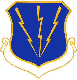 Coat of arms (crest) of the 3rd Air Division, US Air Force