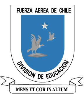 Coat of arms (crest) of the Education Division of the Air Force of Chile
