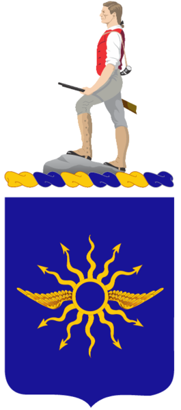 Coat of arms (crest) of the 316th Cavalry Regiment, US Army