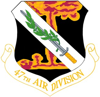 Coat of arms (crest) of the 47th Air Division, US Air Force