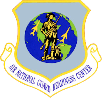 Coat of arms (crest) of the Air National Readiness Center, US