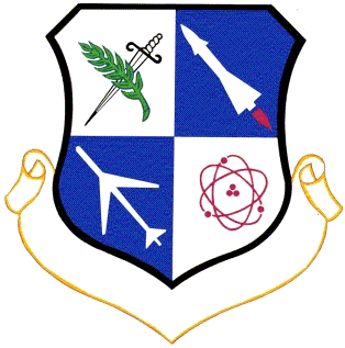 Coat of arms (crest) of the 14th Air Division, US Air Force