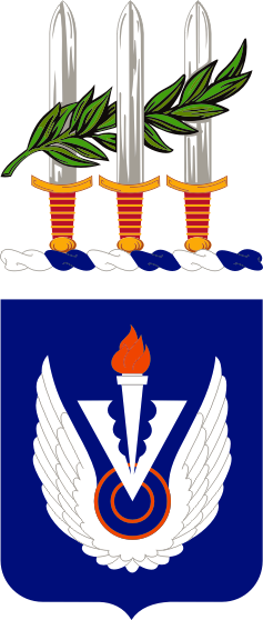 Coat of arms (crest) of the 212th Aviation Regiment, US Army