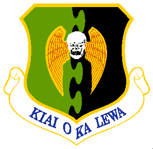 Arms of 5th Bombardment Wing, US Air Force