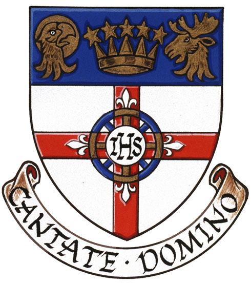 Arms (crest) of Holy Saviour Church, Waterloo