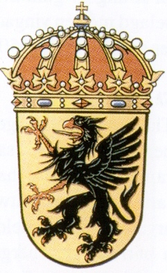 Coat of arms (crest) of the 11th Wing Södermanland Wing, Swedish Air Force