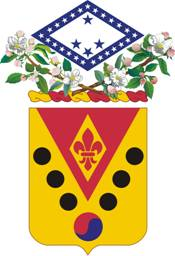 Coat of arms (crest) of the 142nd Field Artillery Regiment, Arkansas Army National Guard
