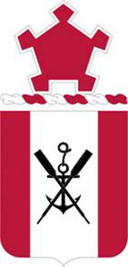 Coat of arms (crest) of the 2nd Engineer Battalion, US Army