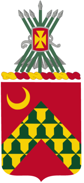 Coat of arms (crest) of the 67th Air Defense Artillery Regiment, US Army